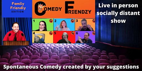 Comedy Friendzy: Live in person All Ages Improv show tickets