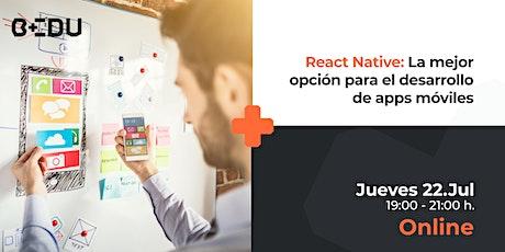 React Native: La mejor opción para el desarrollo de apps móviles entradas