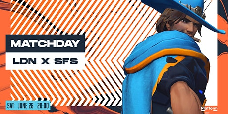 London Spitfire Vs  San Francisco Shock - Official Watch Party! tickets
