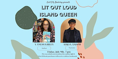 Lit Out Loud: Vanessa Riley, Island Queen, in conversation with Adjoa Andoh tickets