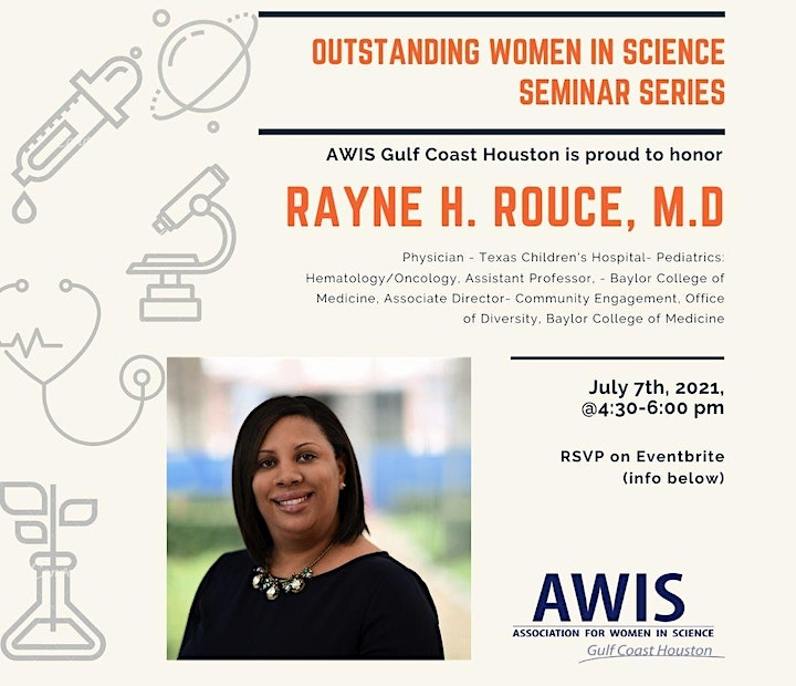 Outstanding Women In Science (OWIS ) Seminar - Spring 2021 - AWIS-GCH image