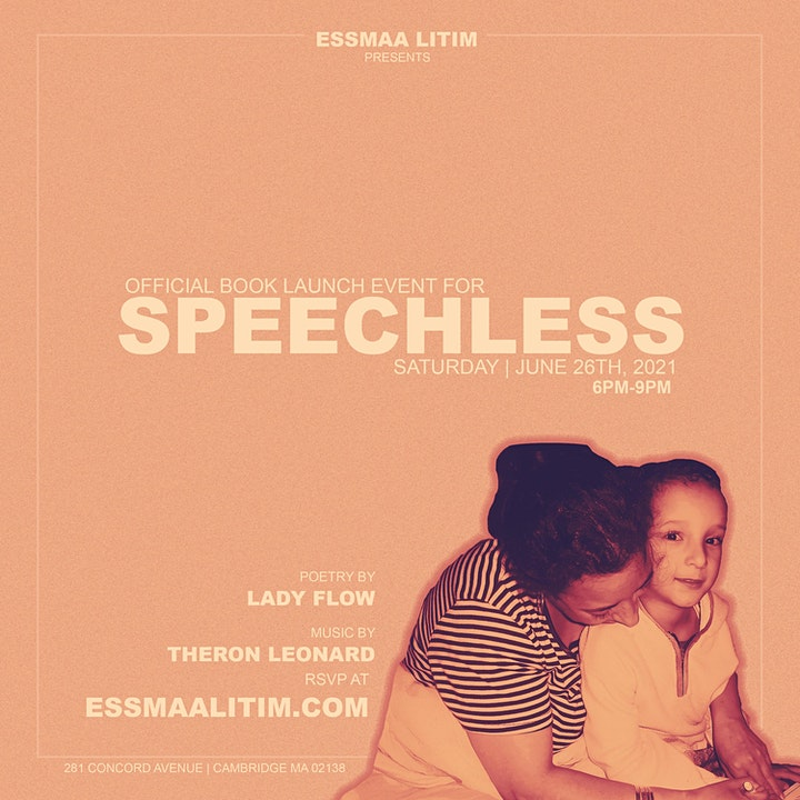 Speechless Official Book Launch image