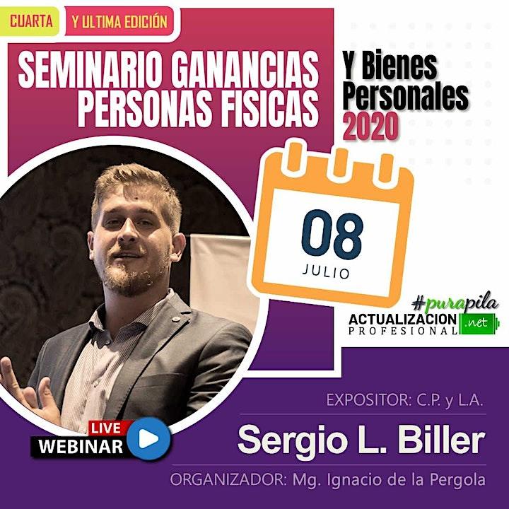 Imagen de 4ta Edición - SEMINARIO 3 HS Ganancias P Físicas  y Bienes Personales 2020