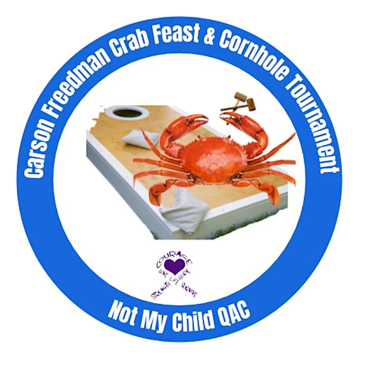 Carson Freedman Crab Feast & Cornhole Tournament image