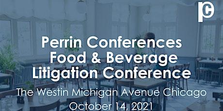 Food & Beverage Litigation Conference tickets