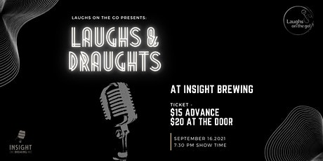 Laughs and Draughts - An Evening of Stand Up Comedy at Insight Brewing tickets