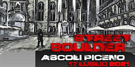 StreetBoulder Ascoli Piceno Juniores biglietti