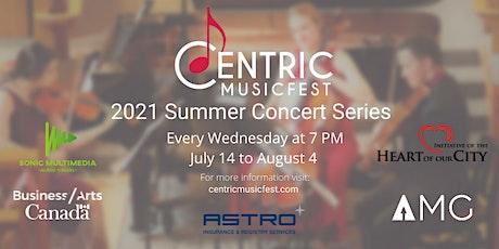 2021 Summer Concert Series tickets