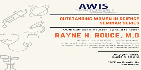 Outstanding Women In Science (OWIS ) Seminar - Spring 2021 - AWIS-GCH tickets