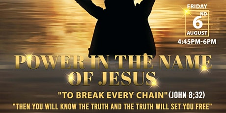 Power In The Name of Jesus 'Living Like Jesus Ministries' New Church Launch tickets