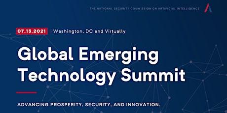 NSCAI's 2021 Global Emerging Technology Summit tickets