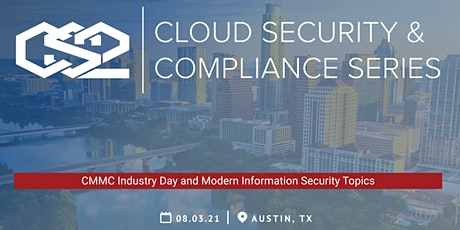 Cloud Security and Compliance Series (CS2) Austin tickets