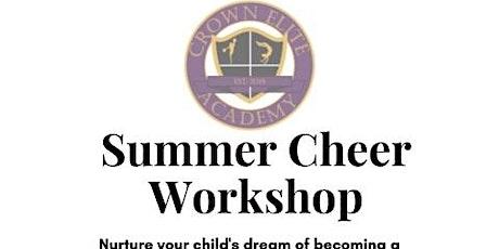 Summer Cheer Workshops tickets