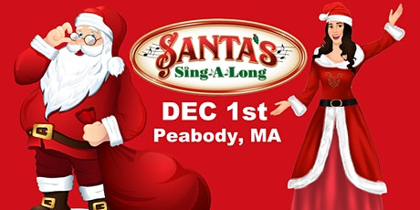 SANTA's SING-A-LONG Direct from Rockefeller Center comes to Peabody Dec 1st tickets