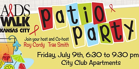 AIDS WALK Patio Party (hosted by Roy Cordy and Trae Smith) tickets