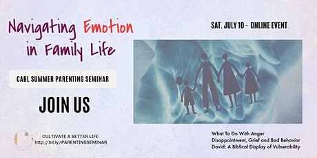 Navigating Emotion in Family Life tickets