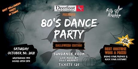 80's Dance Party - Halloween Edition tickets