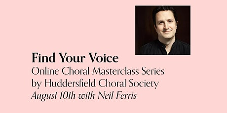 Find Your Voice - August 10th / Neil Ferris tickets