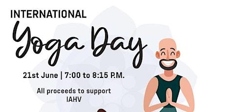 International Yoga Day tickets