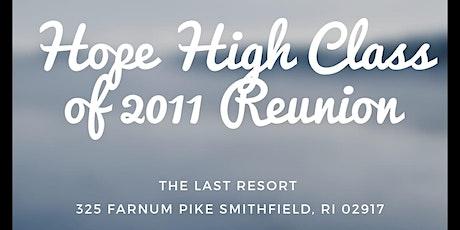 Hope High Class of 2011 Reunion tickets