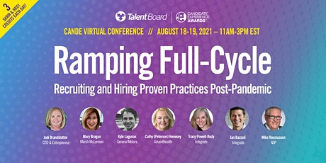 #TheCandEs Virtual Conference: Ramping Full-Cycle Recruiting and Hiring entradas