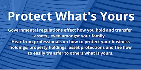 Protect What's Yours tickets