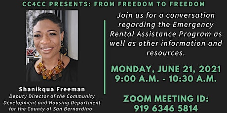 IE CEEM Coalition for Cultural Change Presents: From Freedom to Freedom tickets