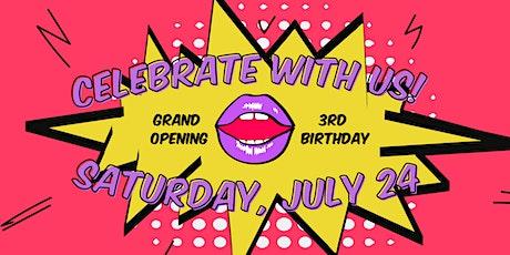Feminist Book Club Grand Opening + 3rd Birthday! tickets