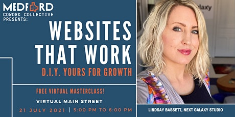 Websites that Work: DIY Your Website for Growth tickets