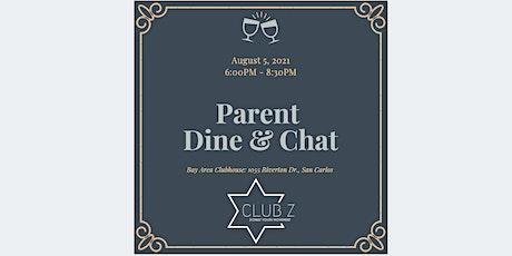 Parent Dine & Chat tickets