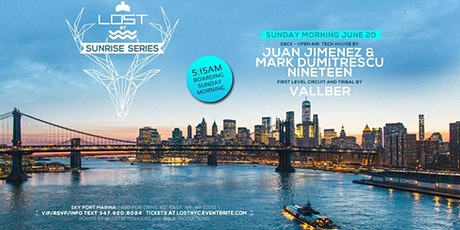 LOST at Sea JUNE 20 [Juan Jimenez/Mark  D /Nineteen]Doors 5:15am Sunday AM tickets