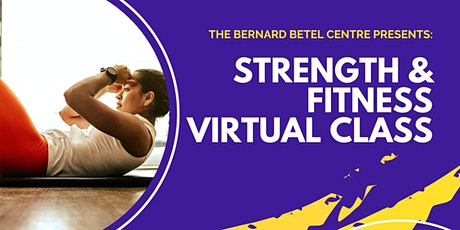 Virtual Strength & Fitness Class tickets