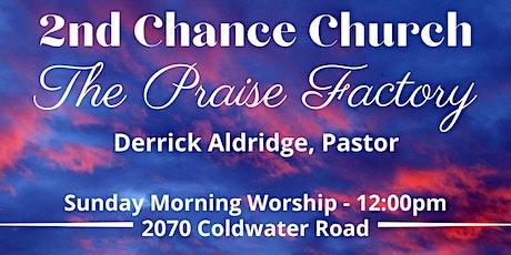 2nd Chance Flint-Sunday Service tickets
