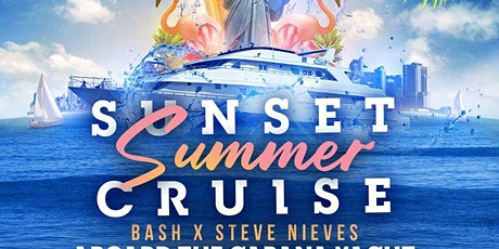 SUNSET SUMMER YACHT PARTY#GQEVENT tickets