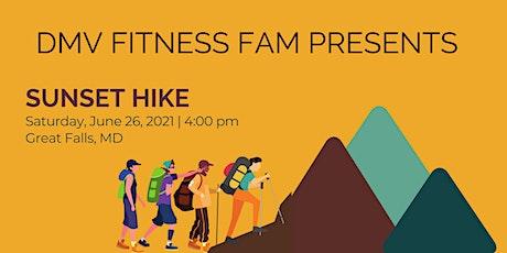 DMV Fitness Fam June Sunset Hike tickets