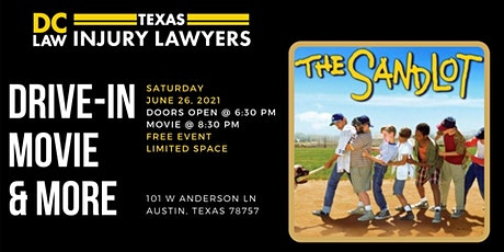 Sandlot Drive-In Movie presented by DC Law tickets