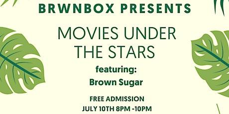 Brwnbox Presents: Movie Under The Stars billets