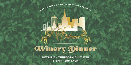 Olé Orleans Winery Dinner tickets