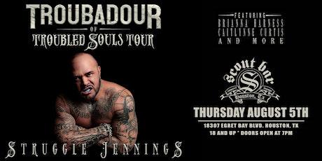 STRUGGLE JENNINGS - Troubadour Of Troubled Souls Tour tickets