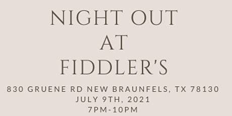 Fiddler's Night Out tickets