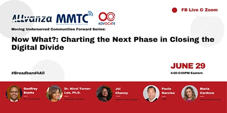 Now What?: Charting the Next Phase in Closing the Digital Divide tickets