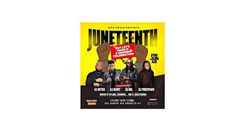 Juneteenth (A modern celebration) tickets