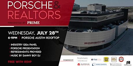 Porsche & Realtors tickets
