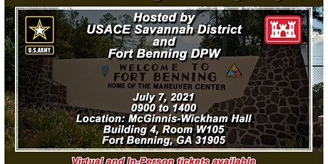 Fort Benning Industry Day hosted by USACE Savannah and Ft. Benning DPW tickets
