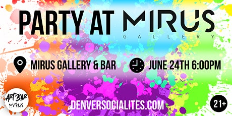 Party at Mirus Gallery & Art Bar tickets