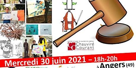 Vente aux enchères caritative : Angers les Arts en Cœur billets