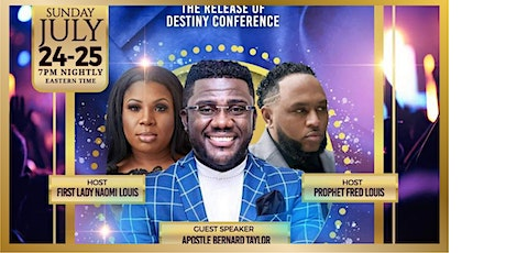 THE RELEASE OF DESTINY CONFERENCE tickets