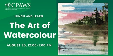 The Art of Watercolour: How to Paint Nature tickets