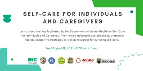 Self-Care for Individuals and Caregivers tickets