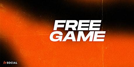 Free Game x Black Community Business Advisory tickets